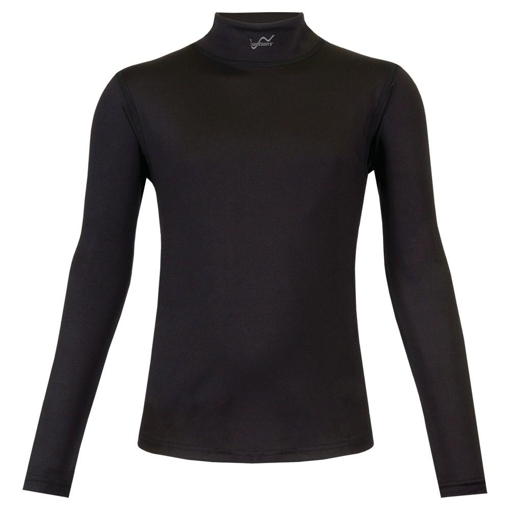 Watsons Toddler Girls Thermal Underwear Shirt - Black L