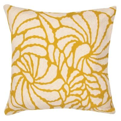 Yellow En Casa By Luli Sanchez Throw Pillow - Jaipur