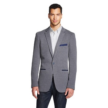 WD.NY Quilted Knit Mens Blazer