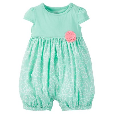 Just One You™ Made by Carter's® Baby Girls' Romper - Green 3 M