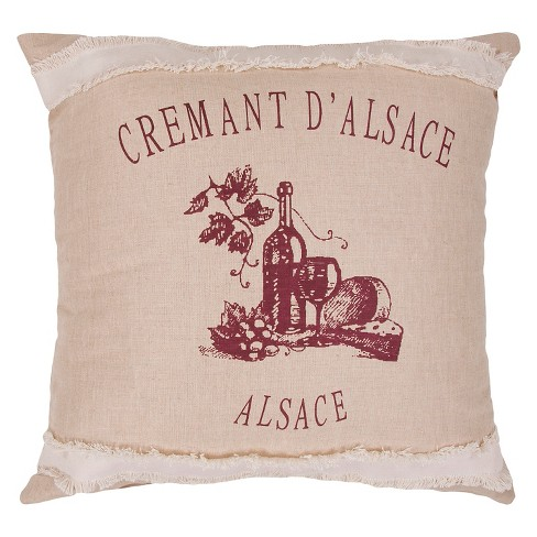 Natural Charmed By Jennifer Adams Throw Pillow - Jaipur - image 1 of 1