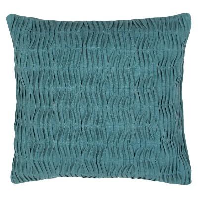 Blue Petal Throw Pillow (20 x20 )- Jaipur
