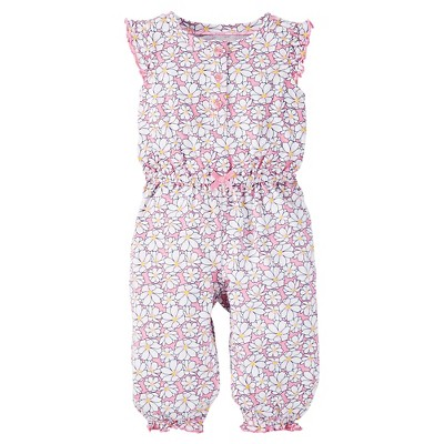 Just One You™Made by Carter's® Baby Girls' Floral Jumpsuit - Pink NB