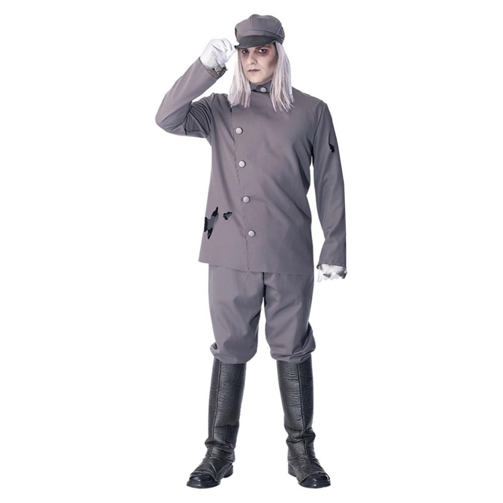 Mens Referee Costume Shirt Medium, Black