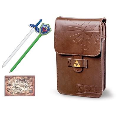 The Legend of Zelda Adventurer's Nintendo 3DS Carrying Pouch