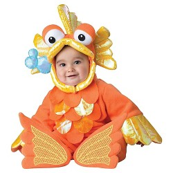 Baby Giggly Goldfish Costume Orange - 6-12 Months
