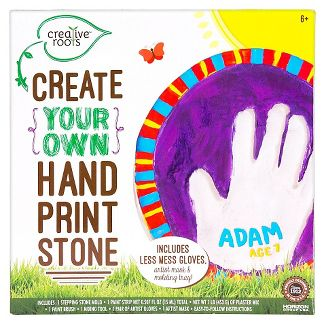 Creative Roots Create Your Own Hand Print Stone