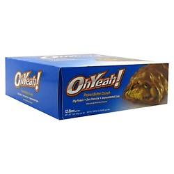 Oh Yeah Protein Bar - Peanut Butter Crunch - 12ct