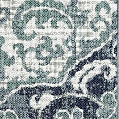 9u0027x12u0027 Outdoor Rug   Blue Batik   Threshold™