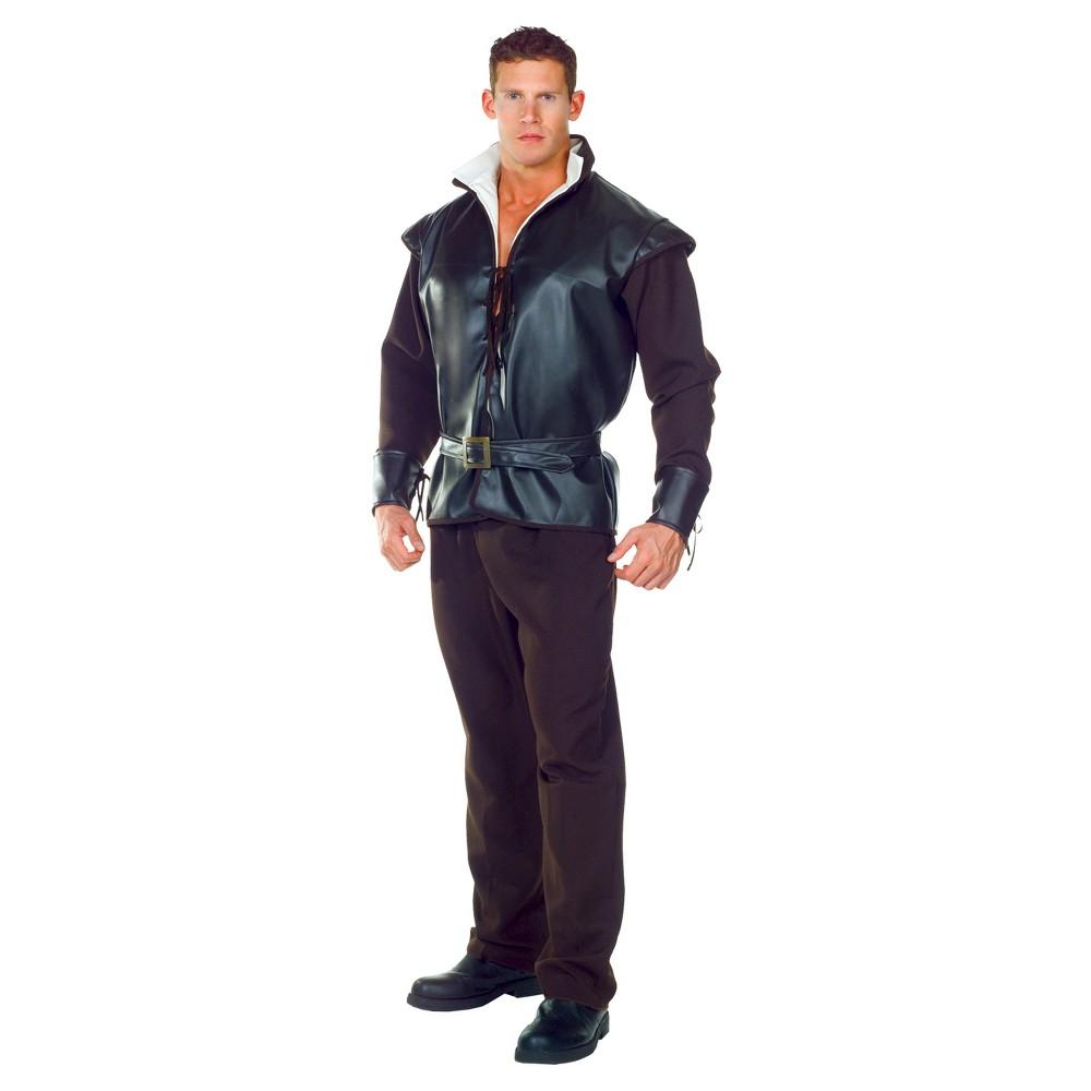 Mens Huntsman Costume One Size Fits Most, Black