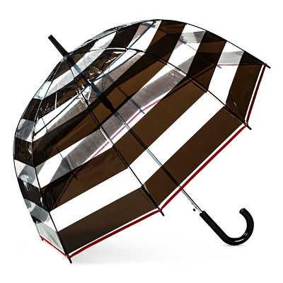 ShedRain Bubble Umbrellas - Black Stripe