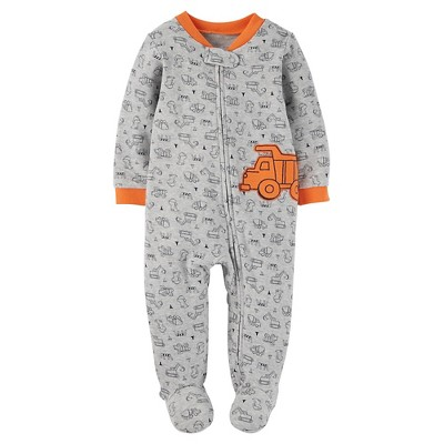 Just One You™ Made by Carter's® Baby Boys' Trucks Sleep N' Play - Gray 3M