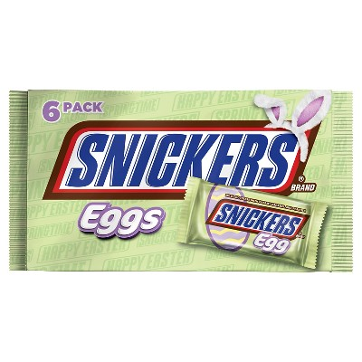 Snickers caramel easter egg 6 pk 6.6 oz