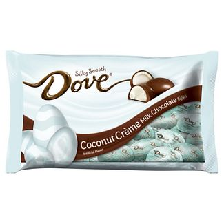 Dove Easter Milk Chocolate Coconut Creme Eggs - 7.94oz
