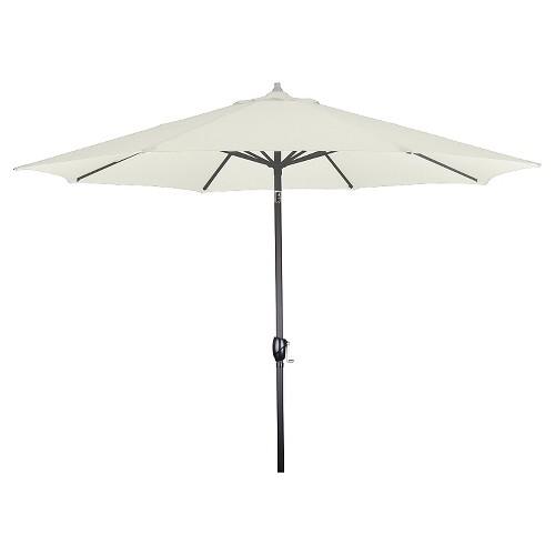 9 Aluminum Market Umbrella - White - Astella