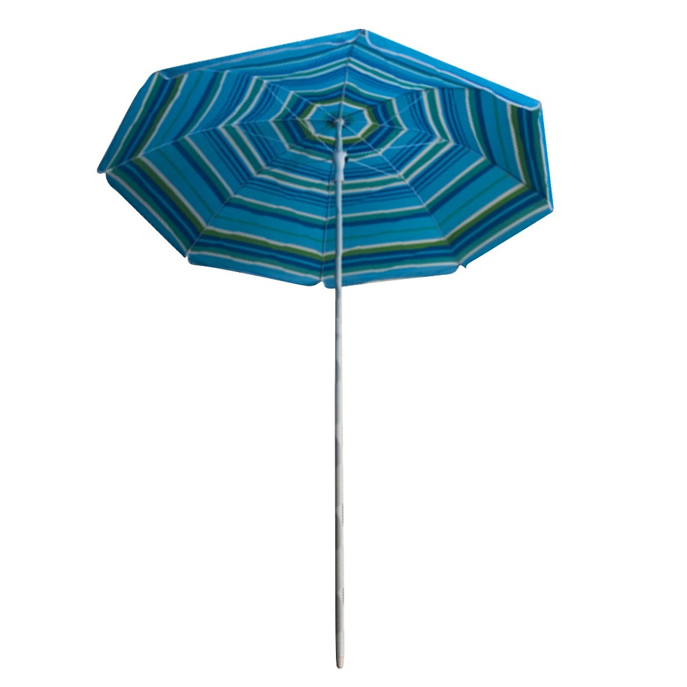 Beach Umbrella - Blue Breeze Stripe - Astella