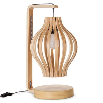 Threshold Bentwood Table Lamp