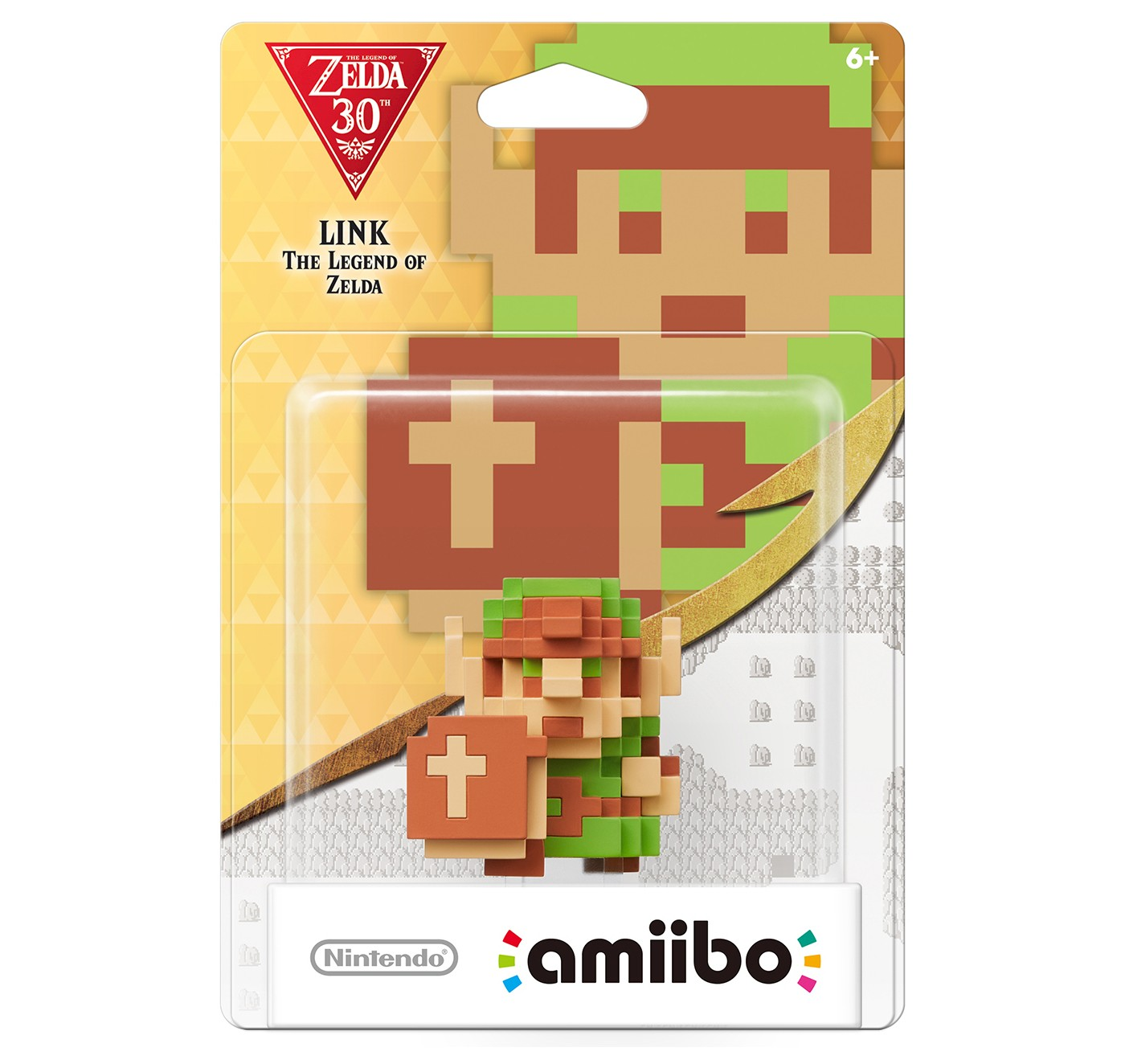 Nintendo 8-Bit Link: The Legend of Zelda amiibo Figure