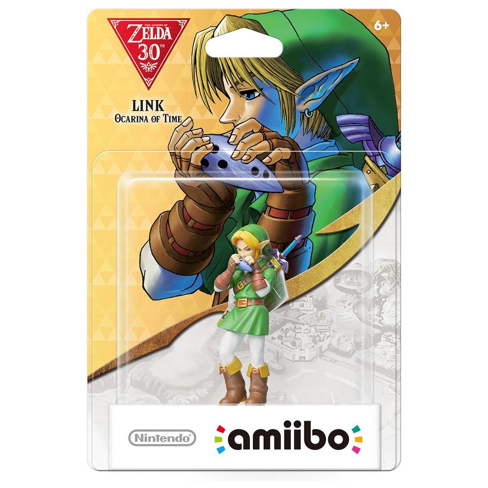 Nintendo Link: Ocarina of Time amiibo Figure, Multi-Colored