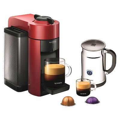 Nespresso Vertuoline Red Evoluo Espresso Coffee Machine With