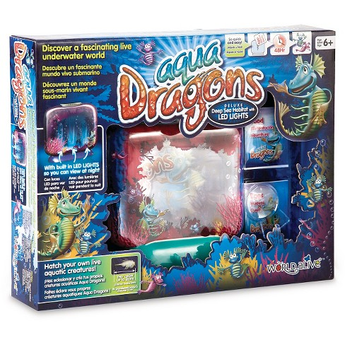 Aqua Dragons Dlx Habitat w/LED - image 1 of 1