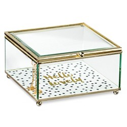 Decorative Box Tricoa Glass Square