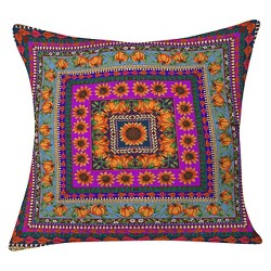 "Purple Aimee St Hill Fall Harvest Throw Pillow (20""x20"") - Deny Designs®"