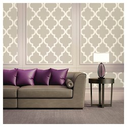 Devine Color Cable Stitch Peel & Stick Wallpaper- Lightning and Twig