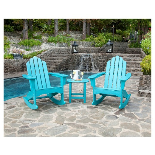 hanover outdoor furniture 3 all weather rocking