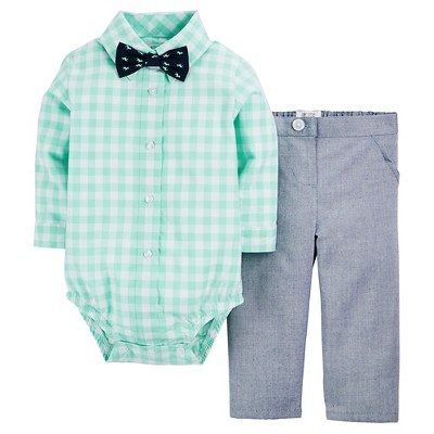 Just One You™ Made by Carter's® Baby Boys' 2pc Set - Green 6M