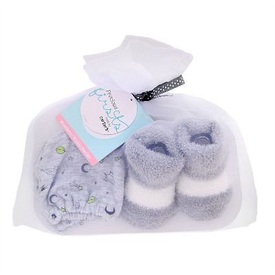Baby Boys' Mittens/Bootie Set - Just One You™ Made by Carter's® Gray
