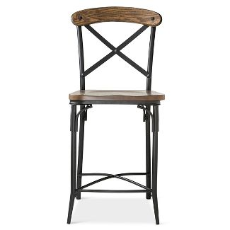 Rumford Saddle 24 Quot Counter Stool Threshold Target