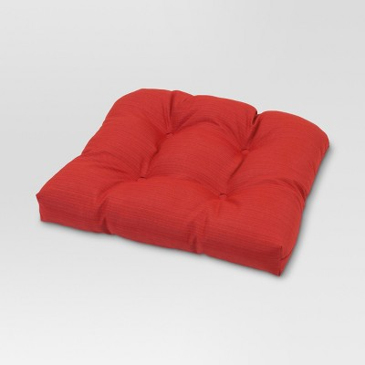 Tufted Seat Cushion - Red - Threshold™