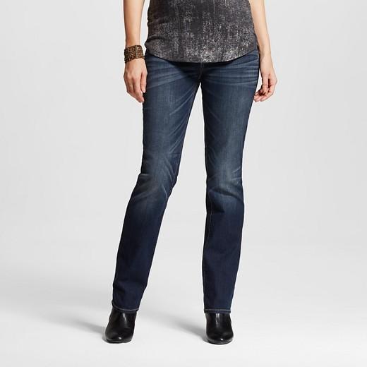 313090e8da84c Maternity Inset Under the Belly Dark Wash Bootcut Jeans - Liz Lange ...