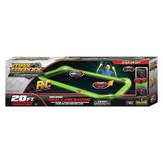 Max TraxxxTracer Racer Glow-in-the-Dark R/C Starter Set, 20 Track
