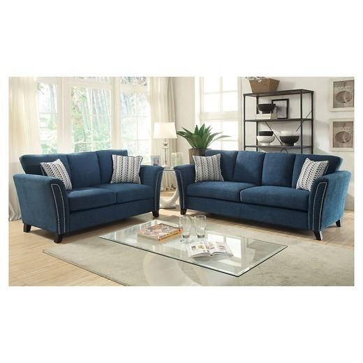 iohomes jocelyn modern style sofa dark teal : target