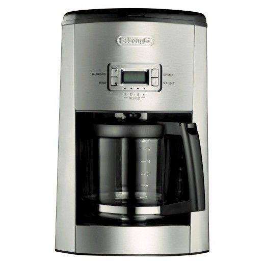 Coffee Maker En Espanol : Delonghi 10 Cup Glass Carafe Drip Coffee Maker- Black : Target