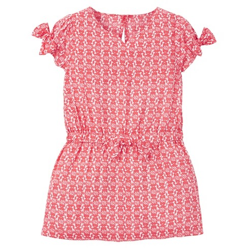 Toddler Girls' Geo Print Maxi Dress - Just One You™ Made by Carter's® Pink - image 1 of 1