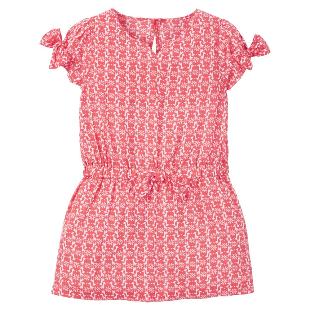 Toddler Girls Geo Print Maxi Dress - Just One You Made by Carters Pink 4T