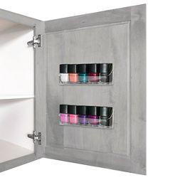 Nail polish organizer case target health beauty nail polish organizer 2 pc kit prinsesfo Choice Image
