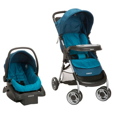 Cosco Lift & Stroll Plus Travel System - Ocean Depth
