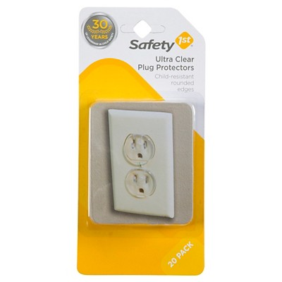 Safety 1st® Ultra Clear Plug Protectors - 20pk
