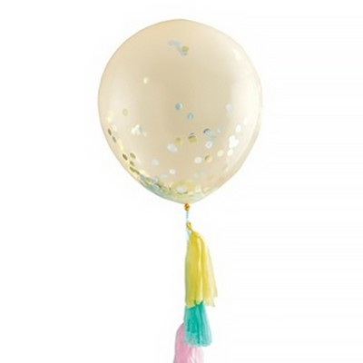 Spritz Confetti Balloon with Tassel Tail