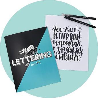 Art 101 Hand Lettering Kit