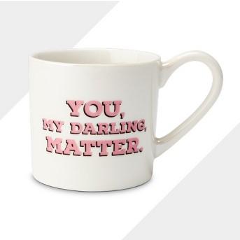 12oz Porcelain You, My Darling, Matter Mug Cream - Threshold™