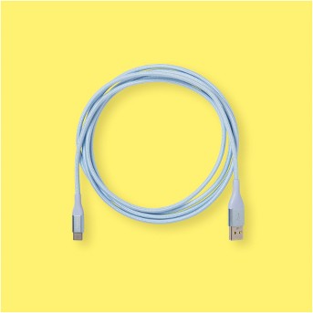 heyday™ 6' USB-C to USB-A Braided Cable