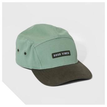 "Boys' ""Good Vibes"" Baseball Hat - Cat & Jack™ Green One Size"