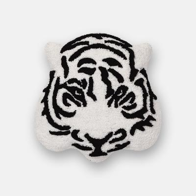 Tiger Throw Pillow Black/White - Room Essentials™