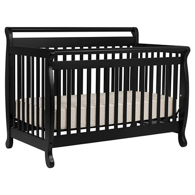 DaVinci Emily 4-in-1 Convertible Crib Black