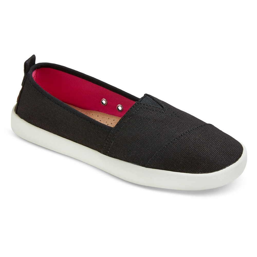 Womens Mad Love Lonnie Slip On Shoes - Black 7
